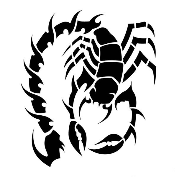 Эскизы скорпиона