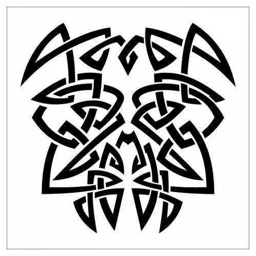 Кельтского тату орнамент кельтский 4
