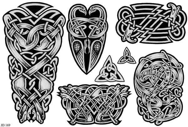 Эскиз татуировки орнамент кельтский