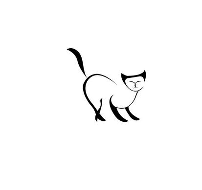 эскизы кошек: