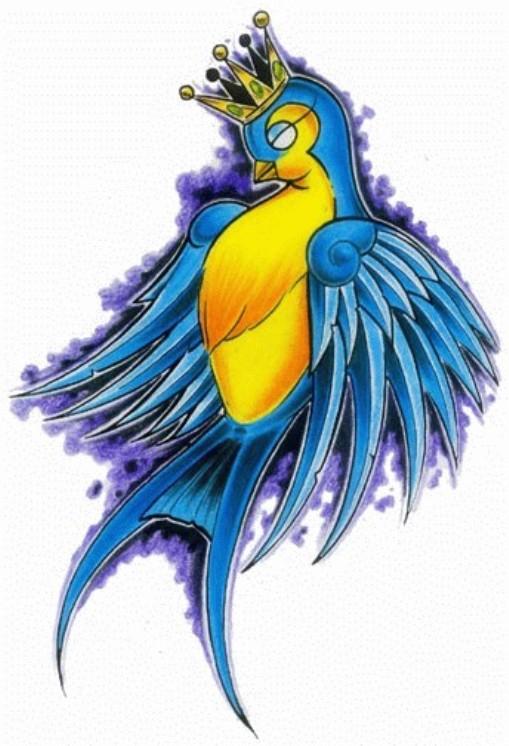 цветные эскизы тату: