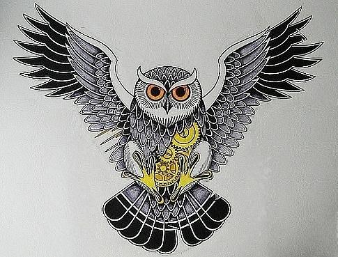Эскизы для тату совы значение