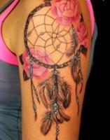 татуировка Ловец снов