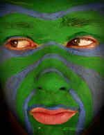 боди арт лицо