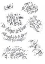tattoo надписи