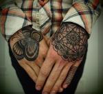 tattoo на кисти рук