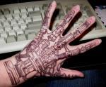 Татуировки на кисти рук