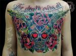 tattoo на груди