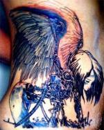 Татуировки на животе