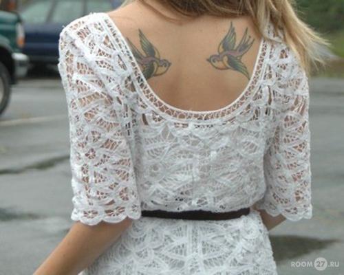 Про женские татуировки для девушек