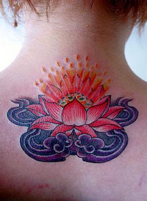 Татуировка цветок лотос, значение татуировки лотоса, тату лотоса