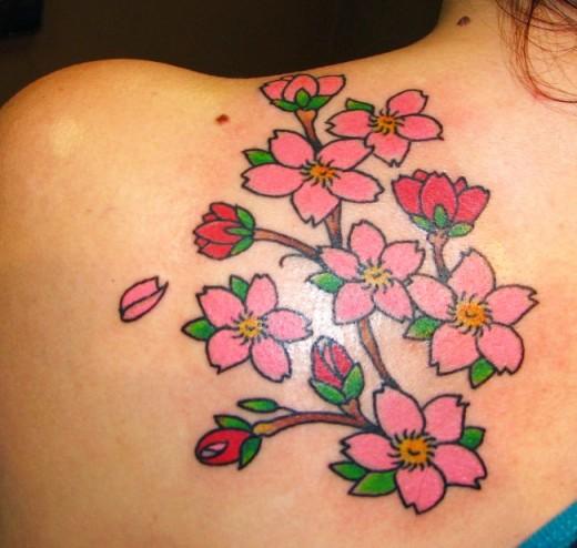 Что означает татуировка с цветами